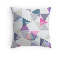 Rainbow Triangle Pattern Throw Pillow