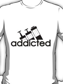 Addicted / Black T-Shirt