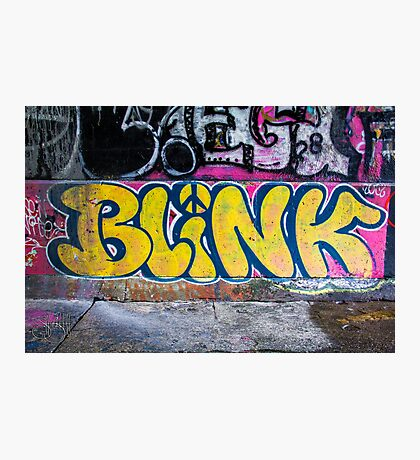 BLiNK Photographic Print