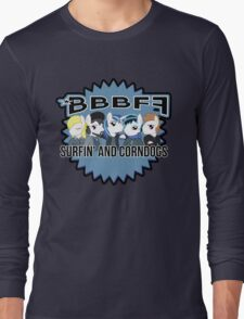 *BBBFF Surfin' and Corndogs! Long Sleeve T-Shirt