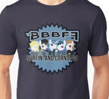 *BBBFF Surfin' and Corndogs! Unisex T-Shirt