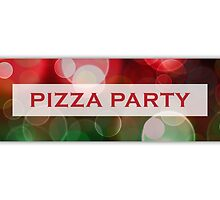 pizza party bokeh by maydaze
