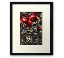 Apple Market Framed Print