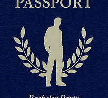 bachelor party passport by maydaze