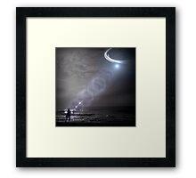 Alien Abduction Framed Print
