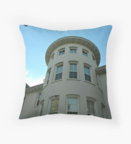 Vintage Building Throw Pillow
