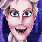 Elsa the Snow Queen by Topher Adam by TopherAdam