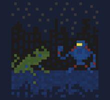 8-bit Kaiju T-Shirt