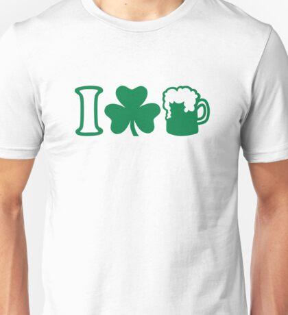 I love green beer Unisex T-Shirt