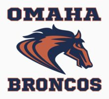 Denver Broncos Omaha Parody Funny Football T-Shirt by xdurango