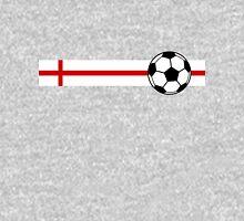 Football Stripes England Unisex T-Shirt