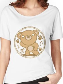 The stuffed toy of the bear Women's Relaxed Fit T-Shirt