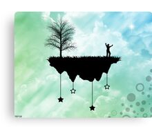Slice of Earth Canvas Print