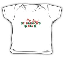 My first St. Patrick's day Baby Tee