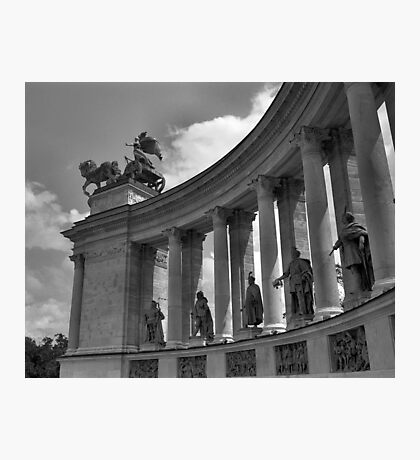 Heroes' Square, Budapest Photographic Print