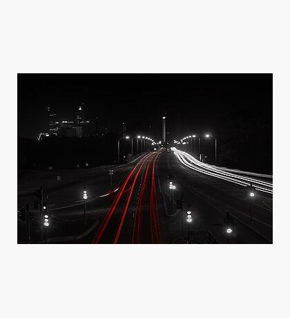 The Causeway - Perth Western Australia Photographic Print