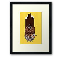 Zebra Dove Framed Print