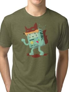 What Does The Fox Say?: Bmo Style! Tri-blend T-Shirt