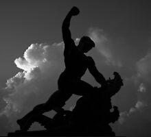 Saint George the Dragon Slayer by Rodney Johnson
