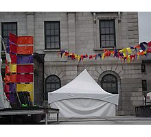 Tent in Old Montreal Photographic Print