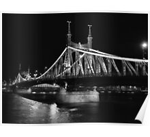 Liberty Bridge, Budapest Poster