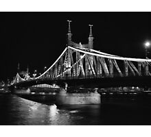 Liberty Bridge, Budapest Photographic Print