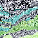 Alkaline Valley  by Arlen Dean (Alkaline Samurai)