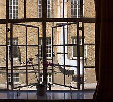 open window by Anne Scantlebury