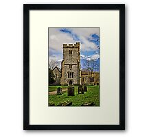 Challock Church Framed Print