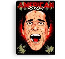 American Psycho Untouched Canvas Print