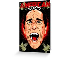 American Psycho Untouched Greeting Card