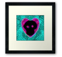 The gas  Framed Print