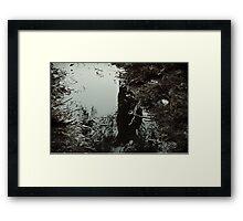 Surreal swamp Framed Print