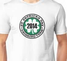 St. Patrick's day drinking team 2014 Unisex T-Shirt