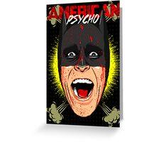 American Psycho Gotham Edition Greeting Card