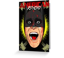 American Psycho Gotham Edition Greeting Card