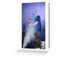 Smokin'.... Greeting Card