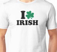 I love Irish shamrock Unisex T-Shirt