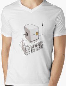 Logic is Cool Mens V-Neck T-Shirt