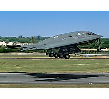Northrop Grumman B-2A Spirit 82-1069/WM Photographic Print