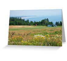 Lower Economy, Nova Scotia Greeting Card