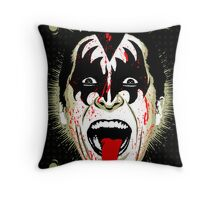 American Psycho Rock'n'Roll All Night Edition Throw Pillow