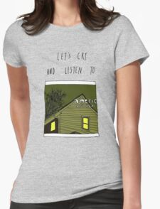 Let's Cry and Listen To American Football Womens Fitted T-Shirt