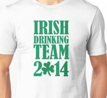 Irish drinking team 2014 Unisex T-Shirt