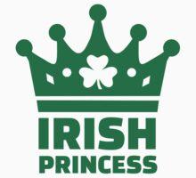 Irish princess crown Kids Tee