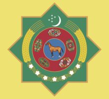 Emblem of Turkmenistan by cadellin