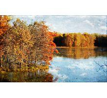 Peaceful Lake View Photographic Print
