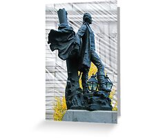 Jacques Cartier Square, Montreal Greeting Card