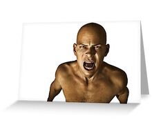 The Silent Scream Greeting Card