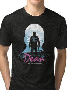 I Hunt, Therefore I Am (Dean - Supernatural & Drive) Tri-blend T-Shirt